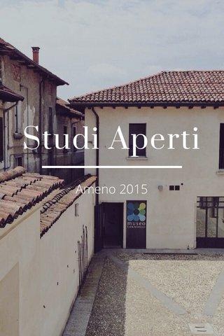Studi Aperti Ameno 2015