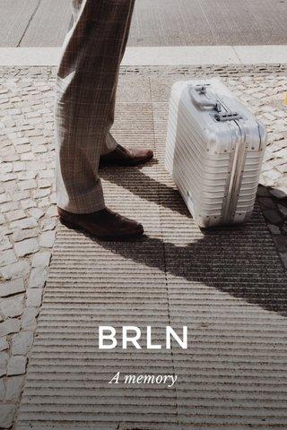 BRLN A memory