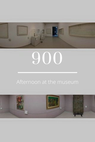 900 Afternoon at the museum