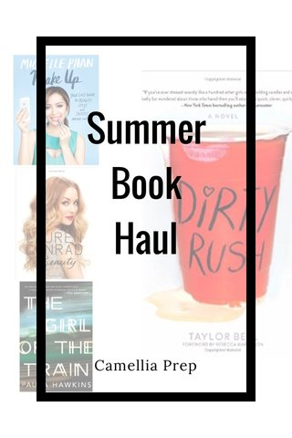 Summer Book Haul Camellia Prep
