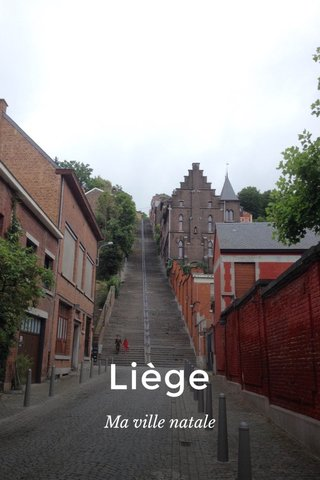 Liège Ma ville natale
