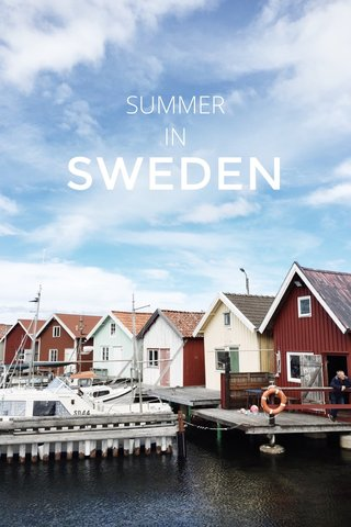 SWEDEN SUMMER IN