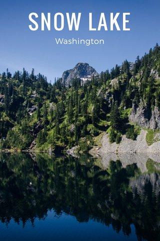 SNOW LAKE Washington