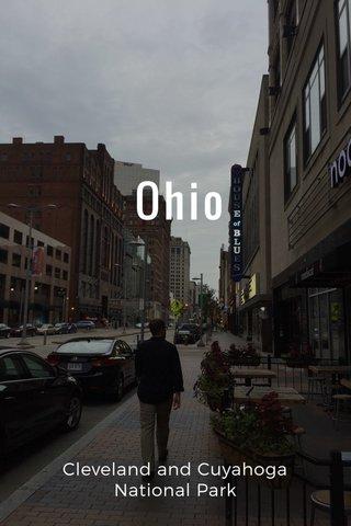 Ohio Cleveland and Cuyahoga National Park