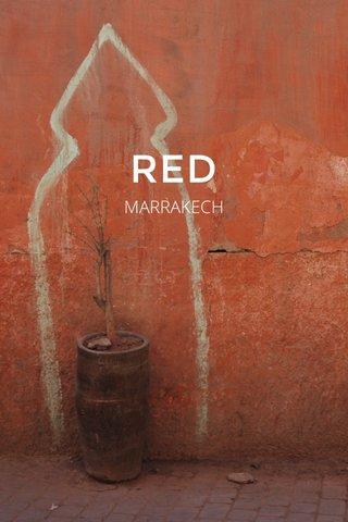 RED MARRAKECH