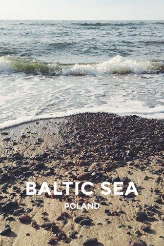 BALTIC SEA POLAND