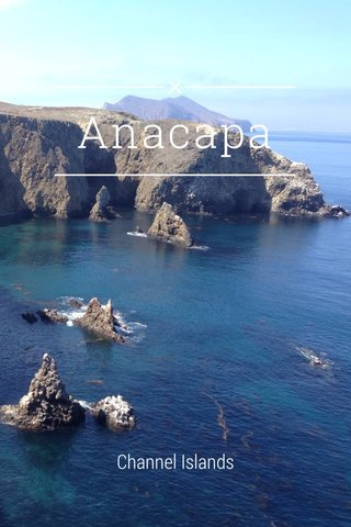 Anacapa Channel Islands