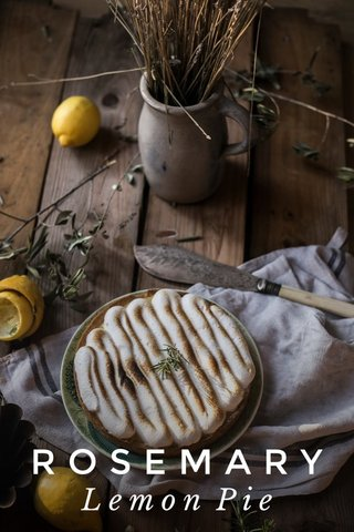 ROSEMARY Lemon Pie