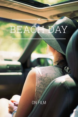 BEACH DAY ON FILM