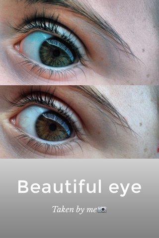 Beautiful eye Taken by me📷