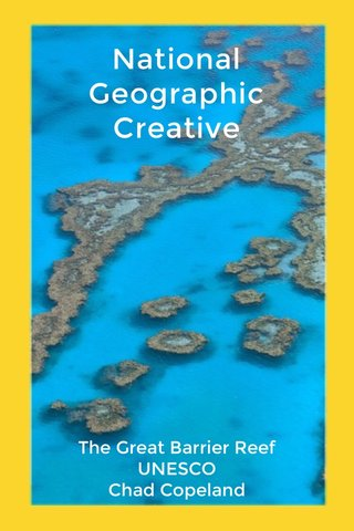 National Geographic Creative The Great Barrier Reef UNESCO Chad Copeland