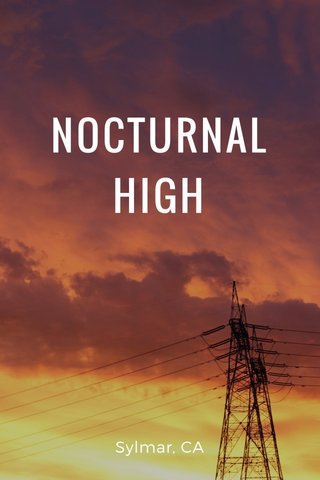 NOCTURNAL HIGH Sylmar, CA