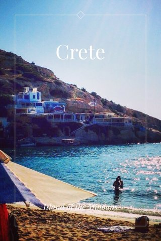 Crete Island of the Minoans