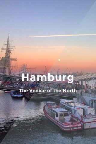 Hamburg The Venice of the North