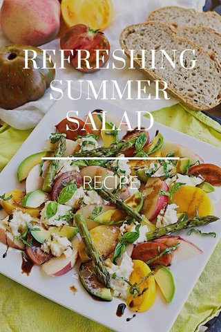 REFRESHING SUMMER SALAD RECIPE