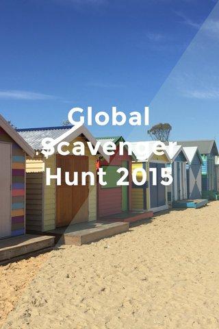 Global Scavenger Hunt 2015