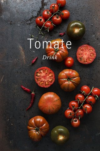 Tomate Drink