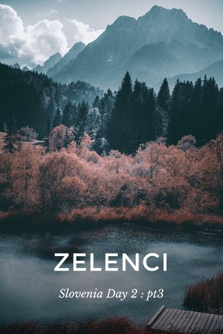 ZELENCI Slovenia Day 2 : pt3