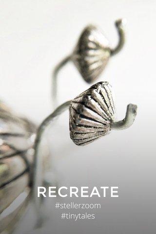 RECREATE #stellerzoom #tinytales