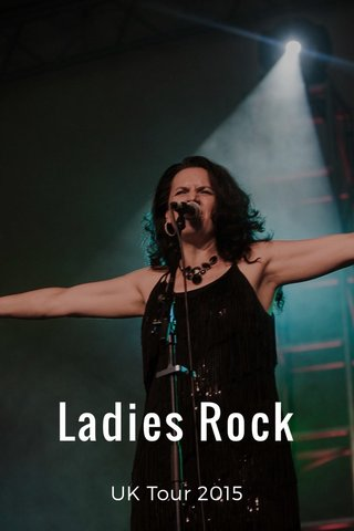 Ladies Rock UK Tour 2015