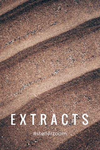 EXTRACTS #stellerzoom