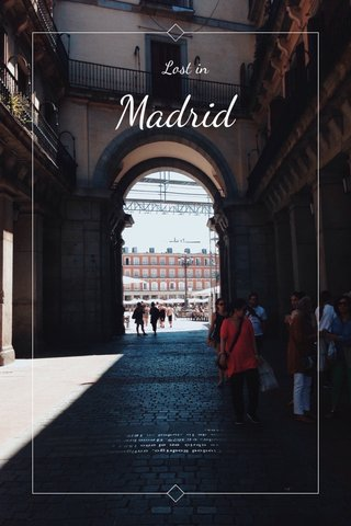 Madrid Lost in