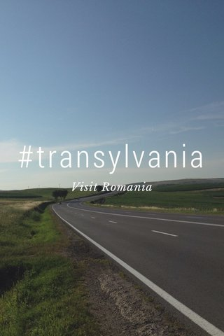 #transylvania Visit Romania