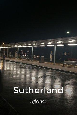 Sutherland reflection