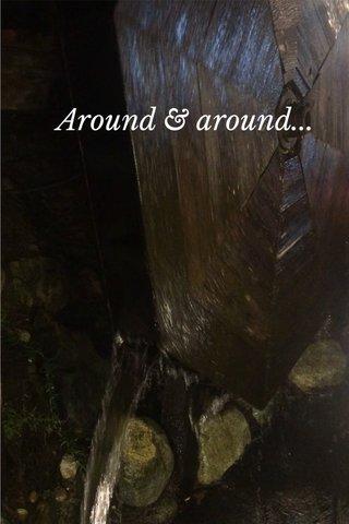 Around & around...