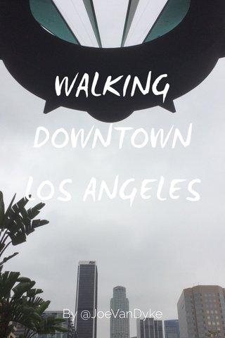 WALKING DOWNTOWN LOS ANGELES By @JoeVanDyke