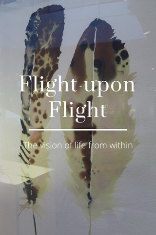 Flight upon Flight The vision of life from within