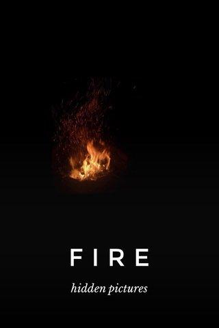 FIRE hidden pictures