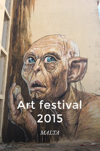 Art festival 2015 MALTA