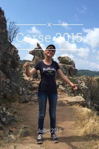 Corse 2015 Juillet 2015