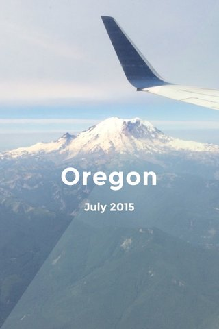 Oregon July 2015
