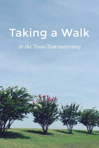 Taking a Walk At the Tenn-Tom waterway