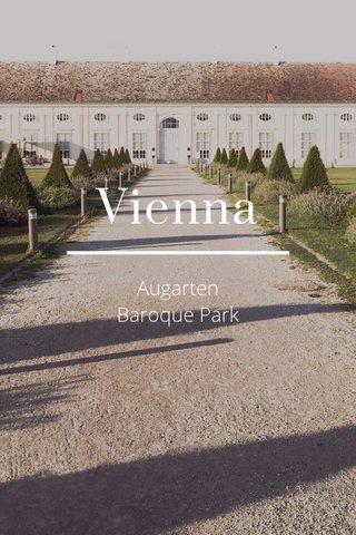 Vienna Augarten Baroque Park