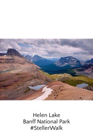 Helen Lake Banff National Park #StellerWalk