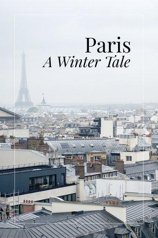 Paris A Winter Tale