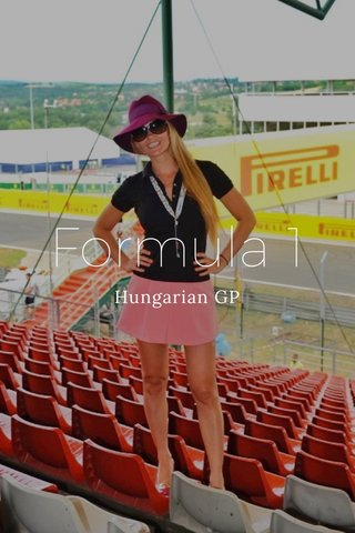 Formula 1 Hungarian GP