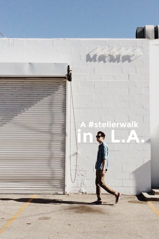 in L.A. A #stellerwalk