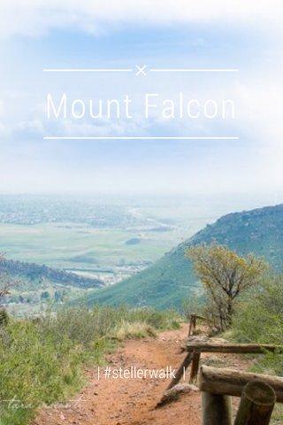 Mount Falcon   #stellerwalk  
