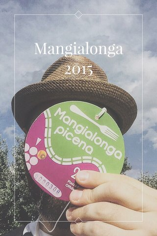 Mangialonga 2015