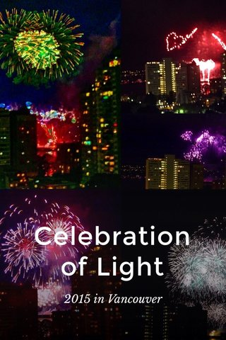 Celebration of Light 2015 in Vancouver