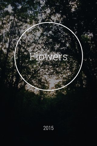 Flowers 2015