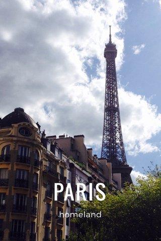 PARIS homeland