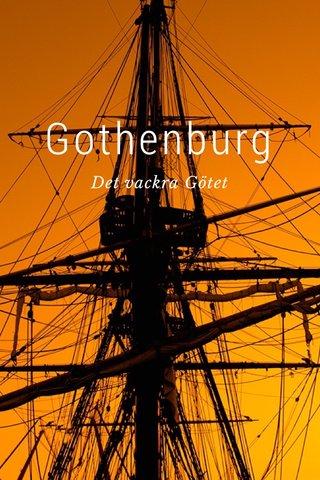 Gothenburg Det vackra Götet