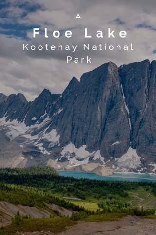 Floe Lake Kootenay National Park