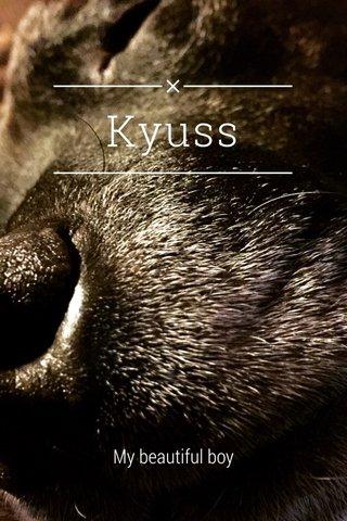Kyuss My beautiful boy