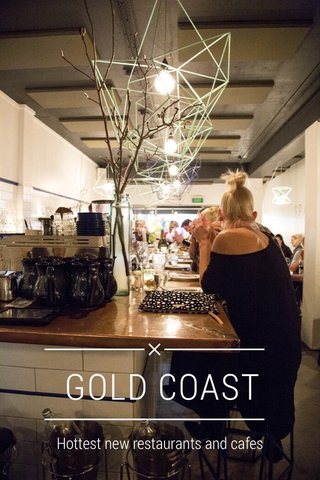GOLD COAST Hottest new restaurants and cafes